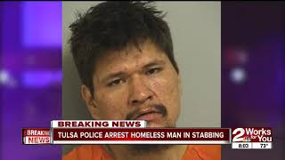 Homeless man arrested in Tulsa's 27th homicide
