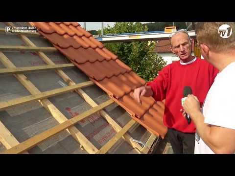 Die Reportage - In sieben Wochen ein neues Dach    Teil 2