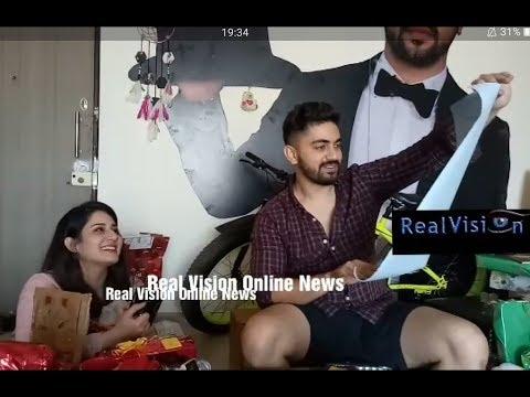 Aditi Rathore birthday segment 2/2 Zain Imam Adiza/exclusive Real Vision Online News thumbnail