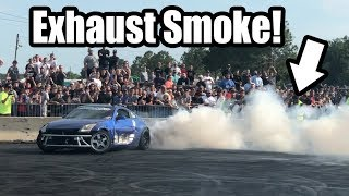 350Z FULL SEND At Cleetus and Cars!! Did We BLOW IT UP!?