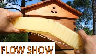 FLOW hive beehive practical review beekeeping 101(http://www.mahakobees.com PRACTICAL review of the FLOW HIVE (tm). This video is very different to most other videos about the Flow hive. We take a practical ..., 2016-05-26T13:51:53.000Z)