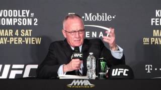 UFC 209 Post-Fight Press Conference: Bob Bennett