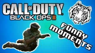 black ops 2 funny moments weird body glitch lobby glitch falcon punch and funny emblems