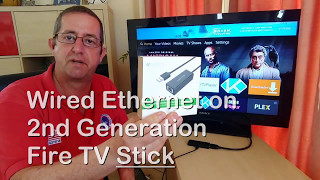 Wired USB Ethernet on UK Fire TV Stick