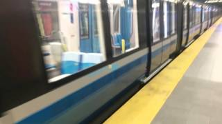 Le nouveau métro de Montréal Québec Canada 2016