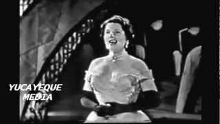 LIBERTAD LAMARQUE- Primera Actuación en TV - 1954