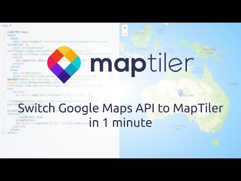 MapTiler as Google Maps API alternative – MapTiler