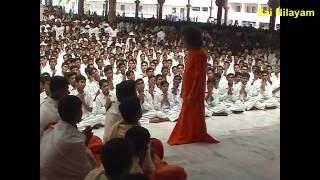 Prasanthi Mandir Bhajan   SAI GURU DEVA GURU GOVINDA