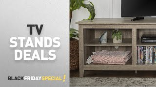 Black Friday Tv Stands By Walker Edison Furniture Company // Amazon Black Friday Countdown