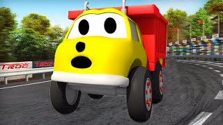 Repeat youtube video An amazing day with Ethan the Dump Truck ! Educational cartoon for children 🏆🎨