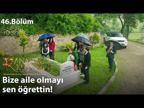 Karamaner ailesi, Nefise'nin mezarında! - Kanatsız Kuşlar 46.Bölüm