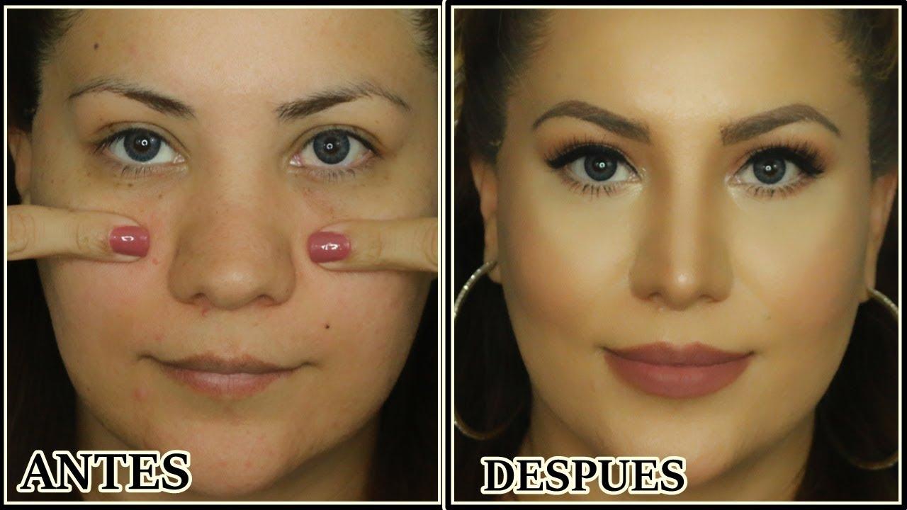 Como adelgazar la nariz sin maquillaje
