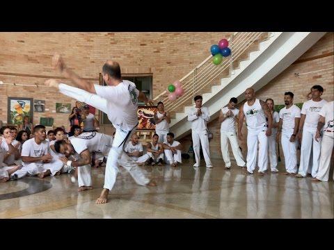 Roda Graduados e Mestres, Batizado Capoeira Brasil Medellín 2016