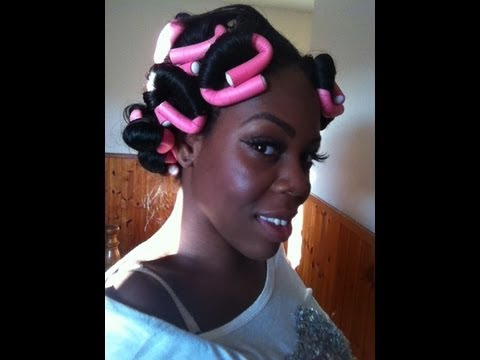 Bendy Rollers Flexi Rods Tutorial YouTube