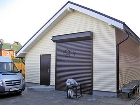 Garage aus holz bauen. Garage selber bauen. Garage selber ...