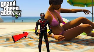 ANTMAN (SMALLEST GTA MOD) - GTA 5 Mods
