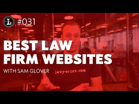 Best Law Firm Websites (Lens #031)