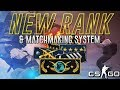 NEW RANKS & MATCHMAKING SYSTEME UPDATE CSGO