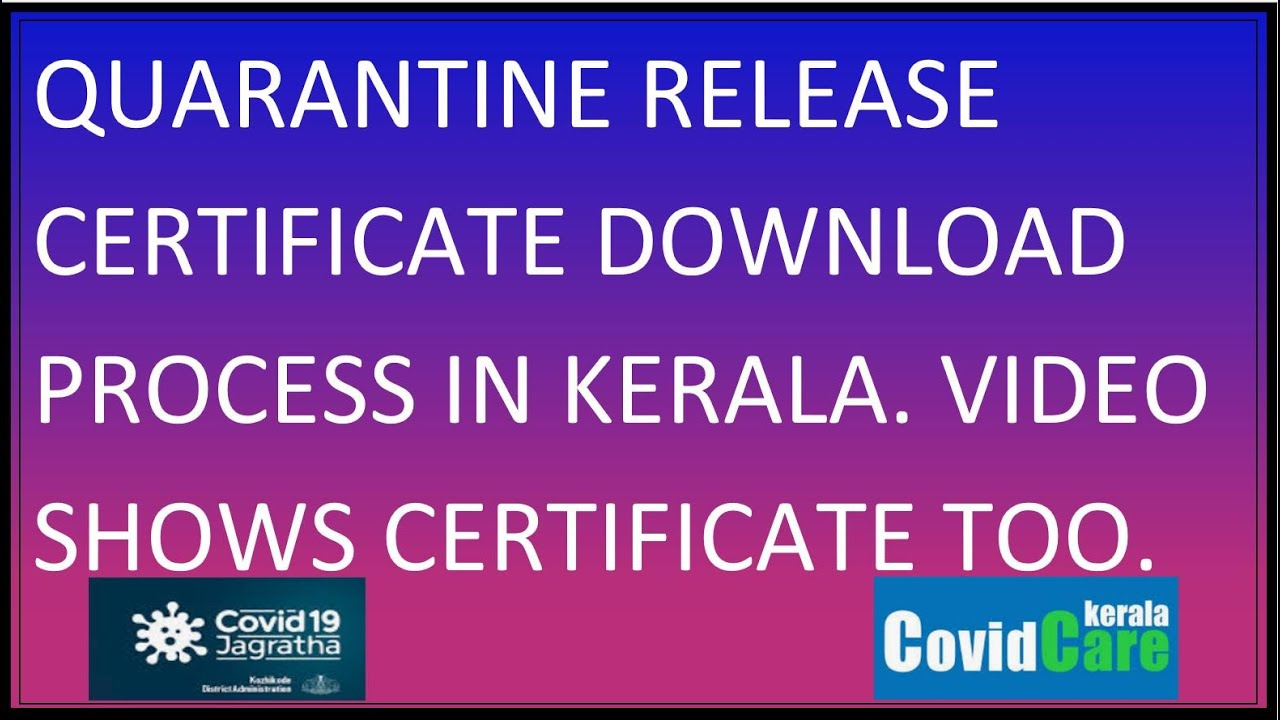 Covid Jagratha Travel E Pass Registration To Kerala Quick Auto Approval Unlock 6 0 Unlock 7 0 2021 Youtube