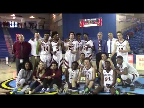 Saint Elizabeth stuns Smyrna to win school's first boys basketball title