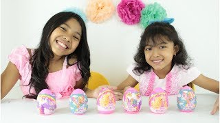 BARBIE SURPRISE EGGS UNBOXING ♥ Mainan Anak Terbaru