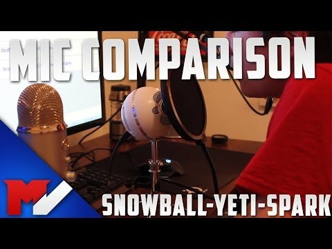 Blue Snowball VS Blue Yeti VS Blue Spark - Overview and Comparison