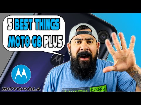 5 Best Things About Moto G8 Plus