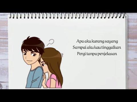 ADISTA - Cintaku Kau Telantarkan 🎵🎵 // Video Lirik Animasi