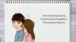 HAMIM SANTRIAZ - Cintaku Kau Telantarkan 🎵🎵 // Video Lirik Animasi