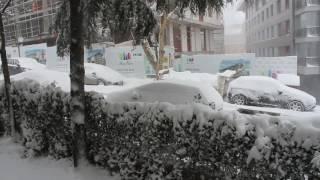 İstanbul da Kar 7 Ocak 2017