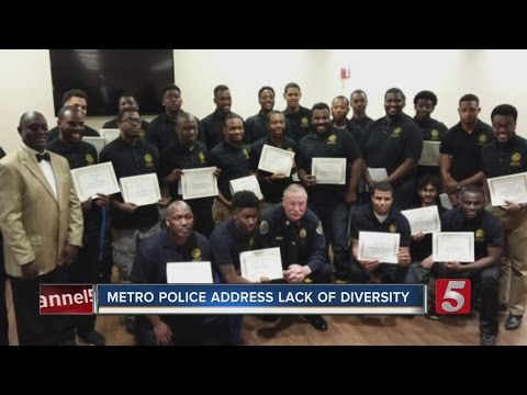 Metro Police Seek To Diversify Force