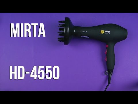 Распаковка MIRTA HD-4550 Fashion PRO Hair