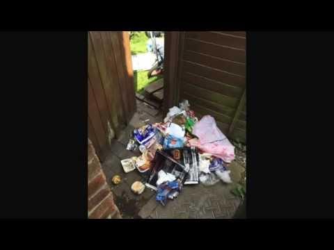 Bad neighbour reigns terror on innocent family