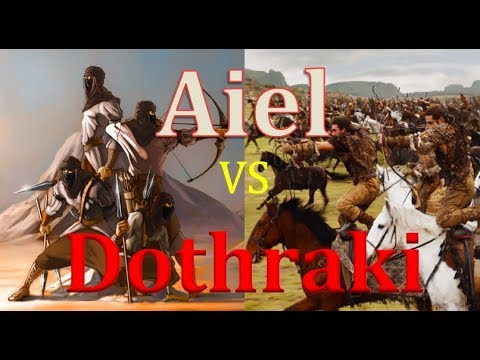 Dothraki VS Aiel (Game Of Thrones VS The Wheel Of Time)