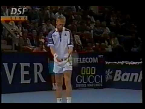 1995   Basilea   Quarti   Becker b Edberg