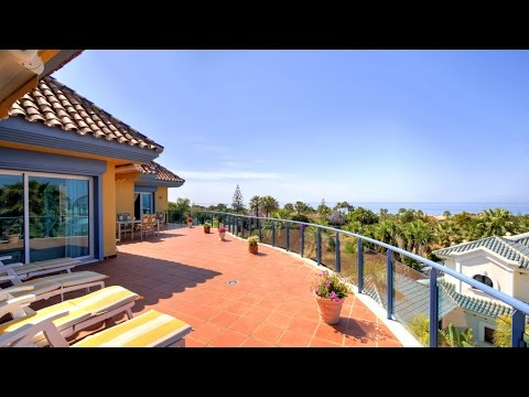 Unique penthouse with breathtaking sea views for sale in Bahia de Marbella