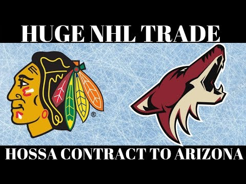 HUGE NHL Trade - Blackhawks & Coyotes 7 players