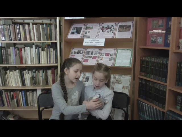 Изображение предпросмотра прочтения – «3 класс» читает произведение «Клыбельная» (Русский фольклор )