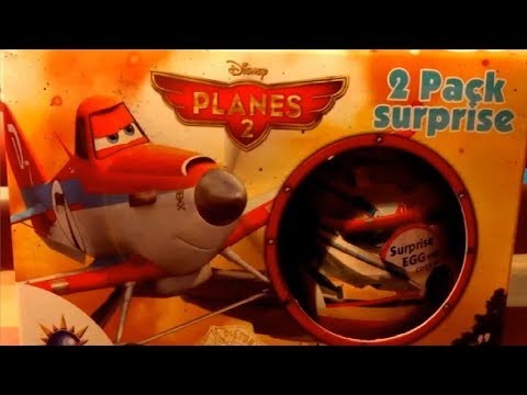 Planes 2 Dusty Crophopper Disney Kinder Surprise Eggs