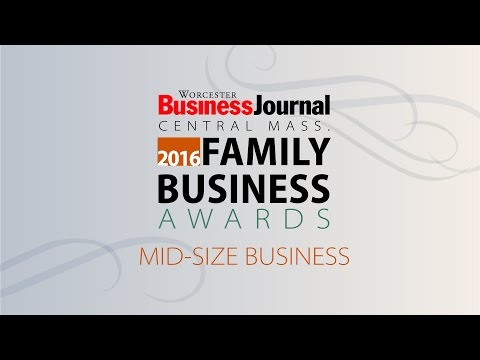 2016 WBJ Central Mass Family Business Awards - Mid-Size Business