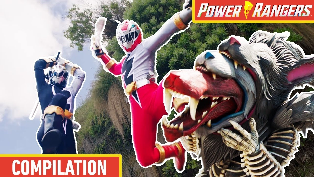 Wolf Family Fight 🐺 Dino Fury ⚡ Power Rangers Kids ⚡ Action for Kids