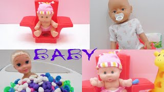 Gambar cover Fun Play w/ Cute Babies Compilation Video Open & Play Time with Toys for Kids