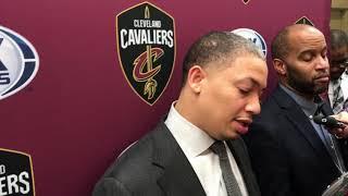 Tyronn Lue praises Cedi Osman in his first NBA start
