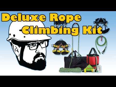 Deluxe Rope Climbing Kit - WesSpur Tree Equipment