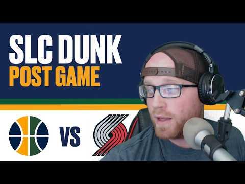Utah Jazz defeat Portland Trailblazers Reaction