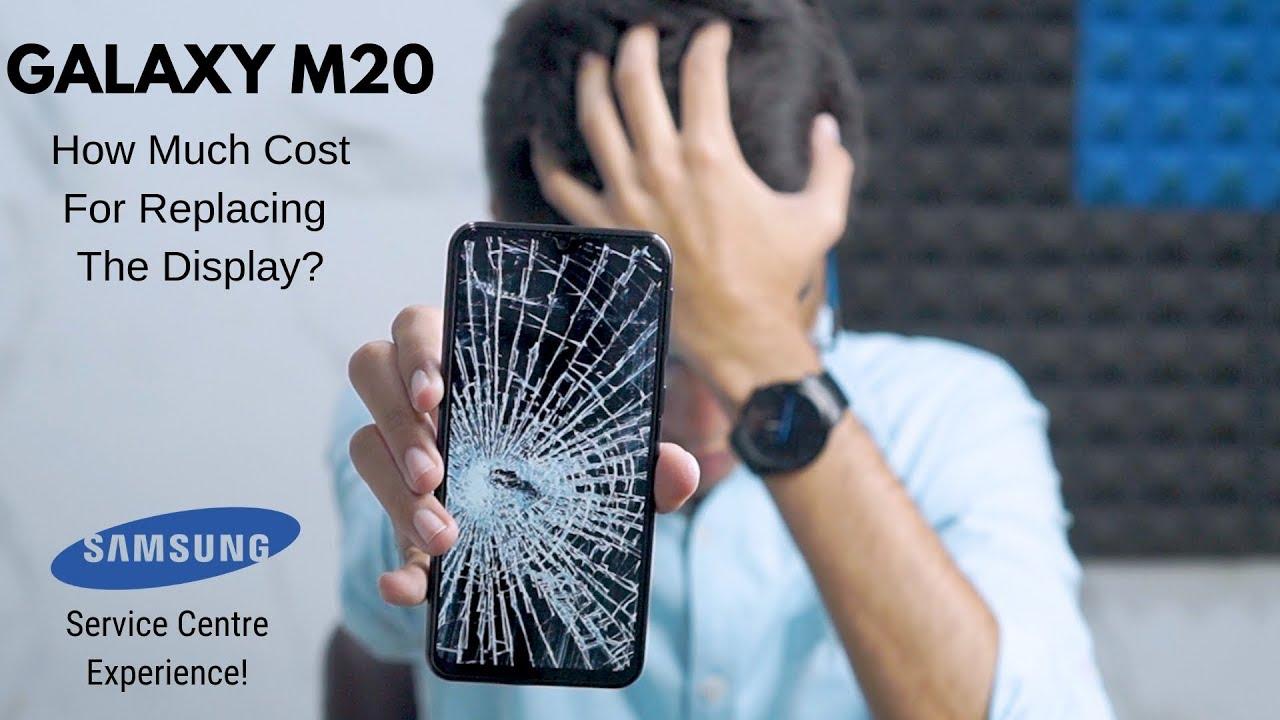 Broke Galaxy M20 Display Samsung Service Center Is Amazing Youtube