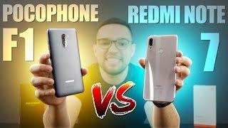 Redmi Note 7 Vs Pocophone F1  E Agora Qual O Melhor Custo-benefício Da Xiaomi