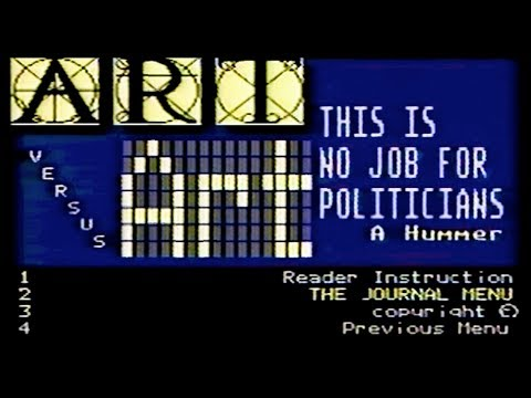 ART vs Art: A Videotex Adaptation