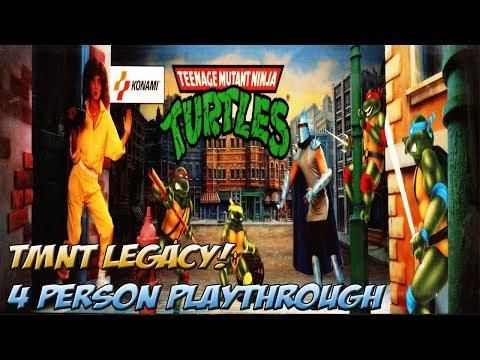 TMNT Legacy: The Original Arcade Game 4 Player Full Playthrough