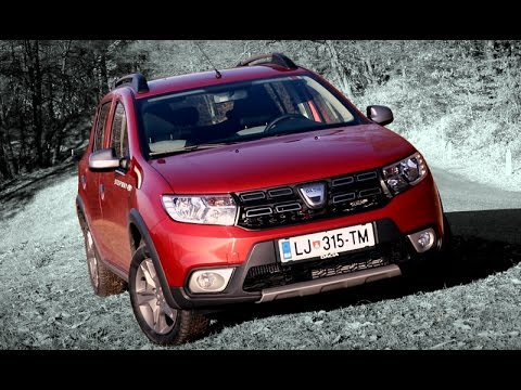 dacia sandero stepway 2017 short review youtube. Black Bedroom Furniture Sets. Home Design Ideas
